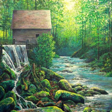 Smoky-Mountain-Mill--30-X-40-$750