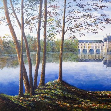 French-Reflections-Framed-Canvas-24-x30-$700
