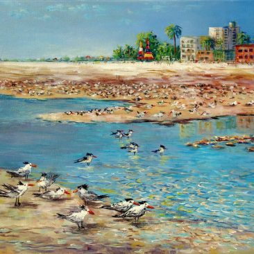 siesta-key-sea-gulls-16-x20-framed-canvas-350