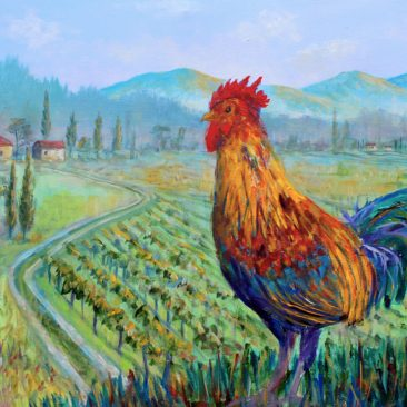 Tuscan-Rooster-16x20-Canvas-$350
