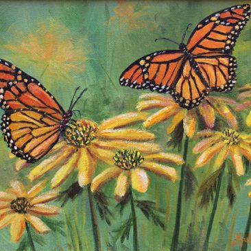 monarchs-9x12-canvas-125